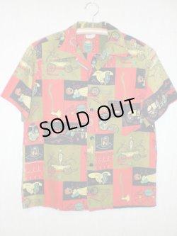 画像1: 60's Catalina製ヴィンテージコットンシャツ