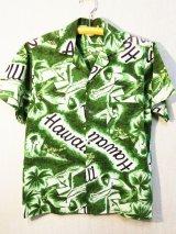 70's Mr.Kailua製ヴィンテージハワイアンシャツ