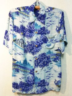 画像1: 50's POLYNESIAN Sportswear製ヴィンテージハワイアンシャツ