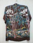 他の写真1: 50's DUKE KAHANAMOKU製パームツリー柄ヴィンテージハワイアンシャツ