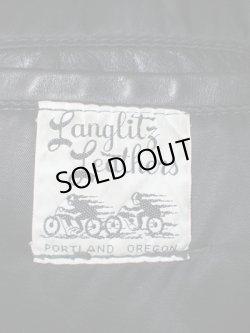 画像3: 60's〜70's Langlitz Leathers COLUMBIA ヴィンテージWライダースジャケット