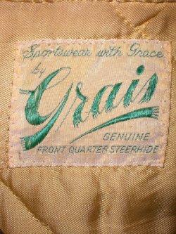 画像3: 50's Grais製ヴィンテージレザージャケット