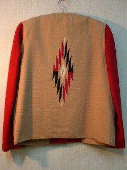 画像2: 50's〜60's CHIMAYOヴィンテージインディアンラグジャケット