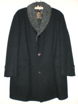 画像1: 50's〜60's h.i.s SPORTSWEAR製ヴィンテージショールカラーコート