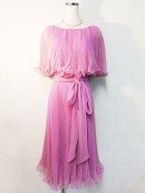 60's miss Elliette CALIFORNIA ヴィンテージプリーツドレス