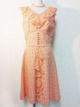 60's Mr.A.W ヴィンテージレース地ドレス