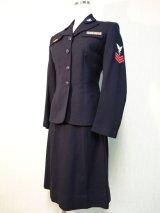 40's WW2 U.S.Navy WAVESレディーススーツ(激レア!!)