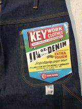 【DeadStock】50's~60's KEY WORK CLOTHES ヴィンテージデニムペインターパンツ