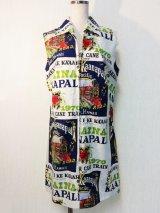 70's Sears HAWAIIAN fashions ヴィンテージハワイアンワンピース