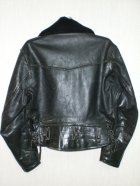 他の写真1: 60's ムートン衿付ヴィンテージポリスマンタイプシングルライダースジャケット