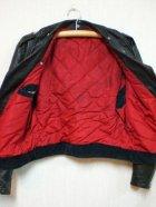 他の写真2: 50's ヴィンテージWライダースジャケット D型ポケット