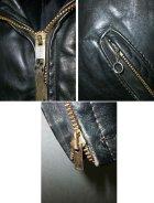 他の写真3: 60's ムートン衿付ヴィンテージポリスマンタイプシングルライダースジャケット