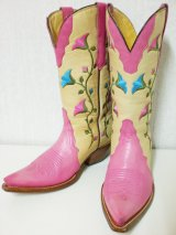 70's 刺繍入りヴィンテージウエスタンBOOTS