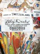 """他の写真2: 60's """"Lilly Dache""""ANDRADE製ヴィンテージコットンシャツ"""