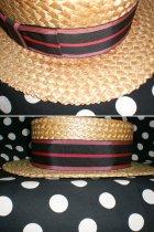 他の写真3: 50's Lee製ヴィンテージカンカン帽(ボーターハット)