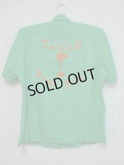画像1: 60's miss Joelle'製 ヴィンテージボーリングシャツ
