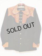 60's ディアスキンヴィンテージレザーシャツジャケット