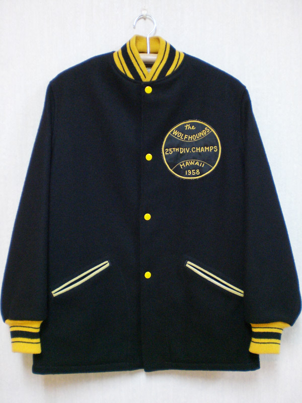 60 S General Athletic Products Co 製ヴィンテージアワードジャケット Baby